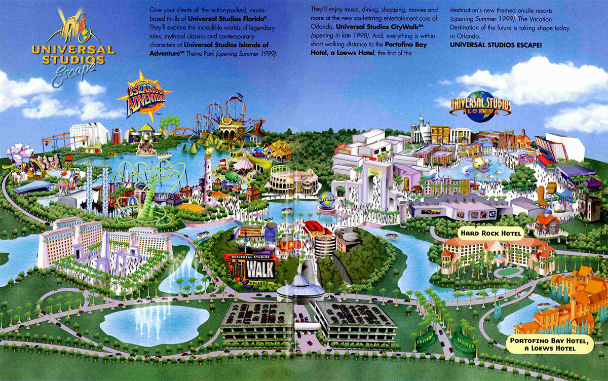 Top Five Experiences Never Built at Universal Orlando World Of