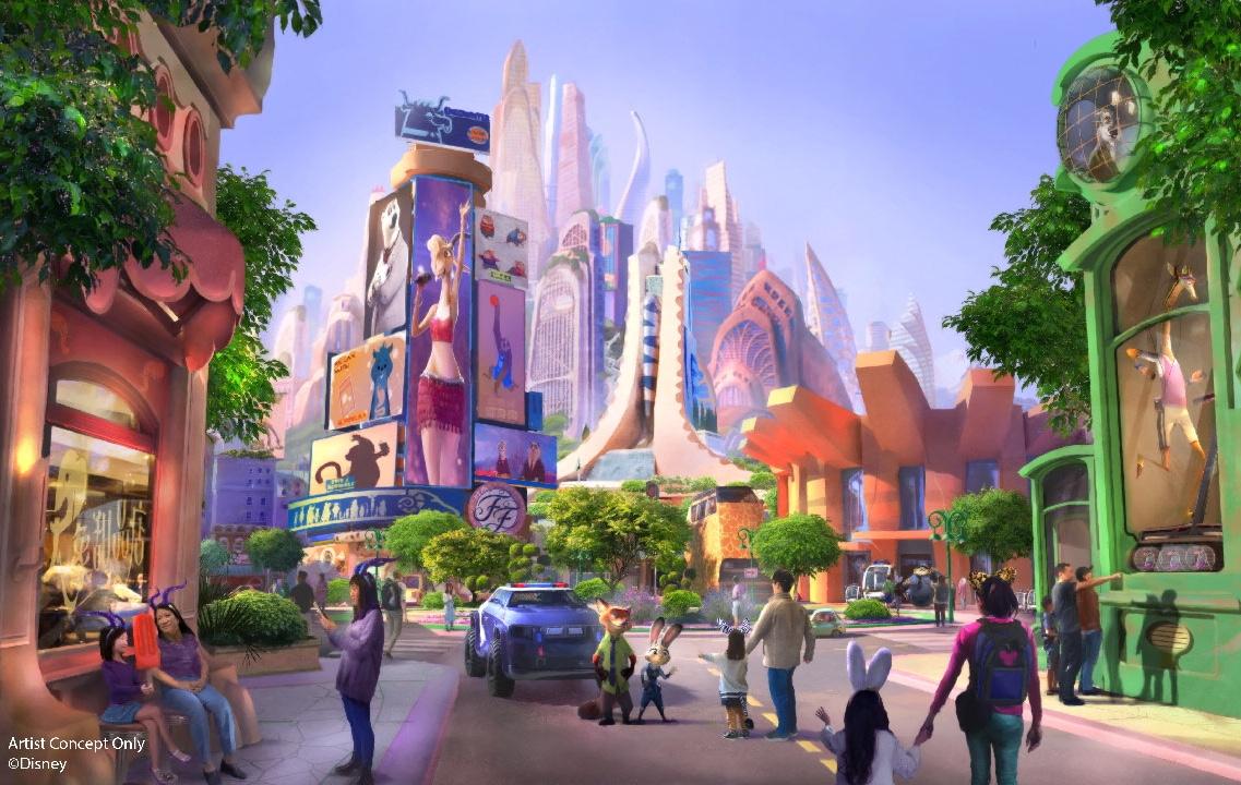 Shanghai Disneyland to Receive Zootopia Expansion