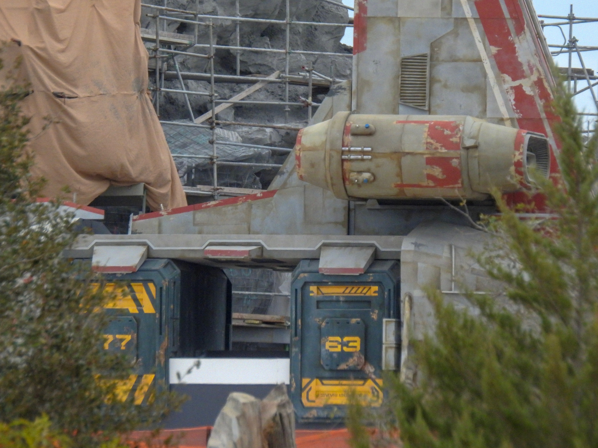 Photo Update: Galaxy's Edge, Guardians Coaster & More
