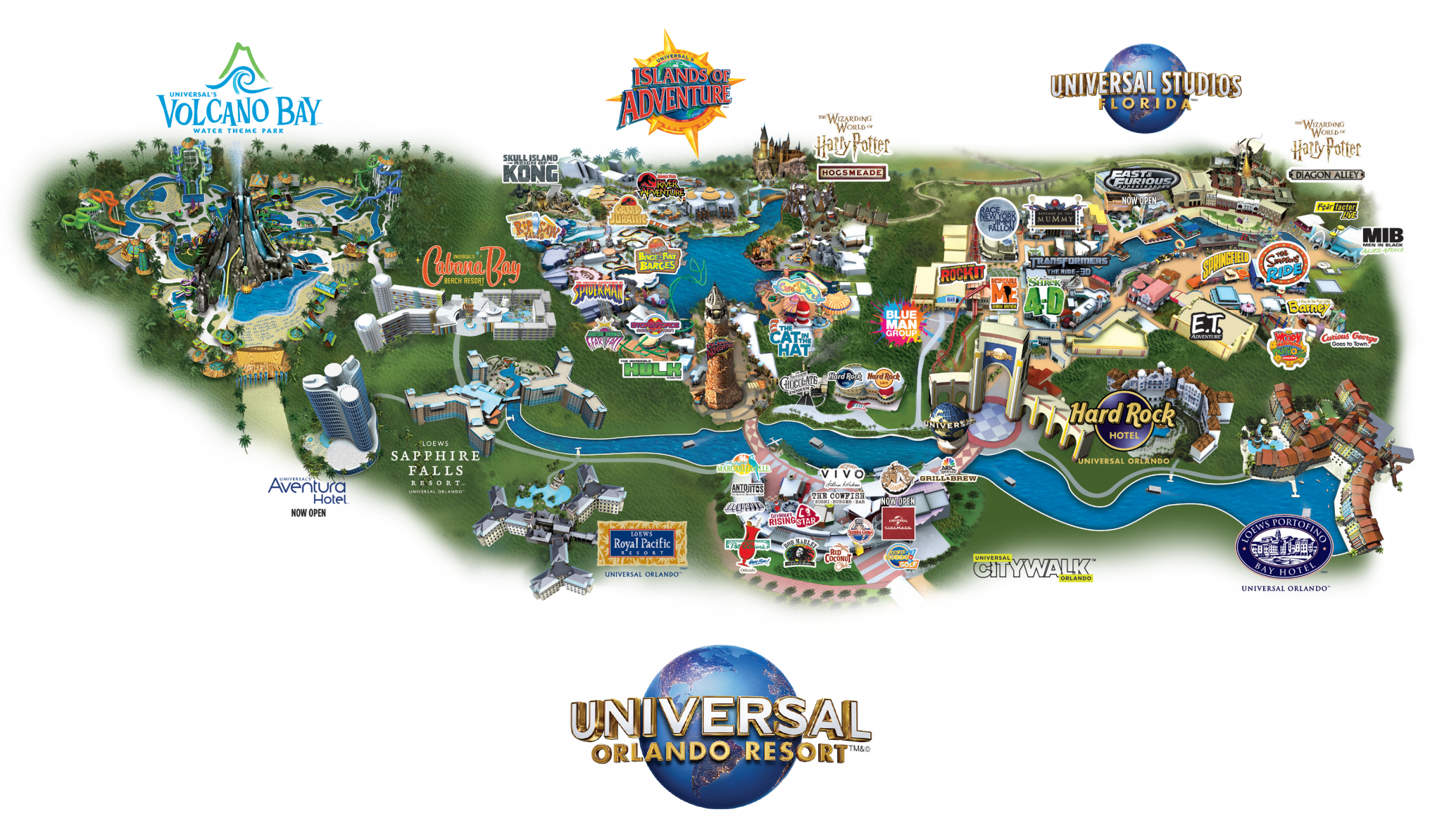 Free Universal Orlando Planning Guide World Of Universal